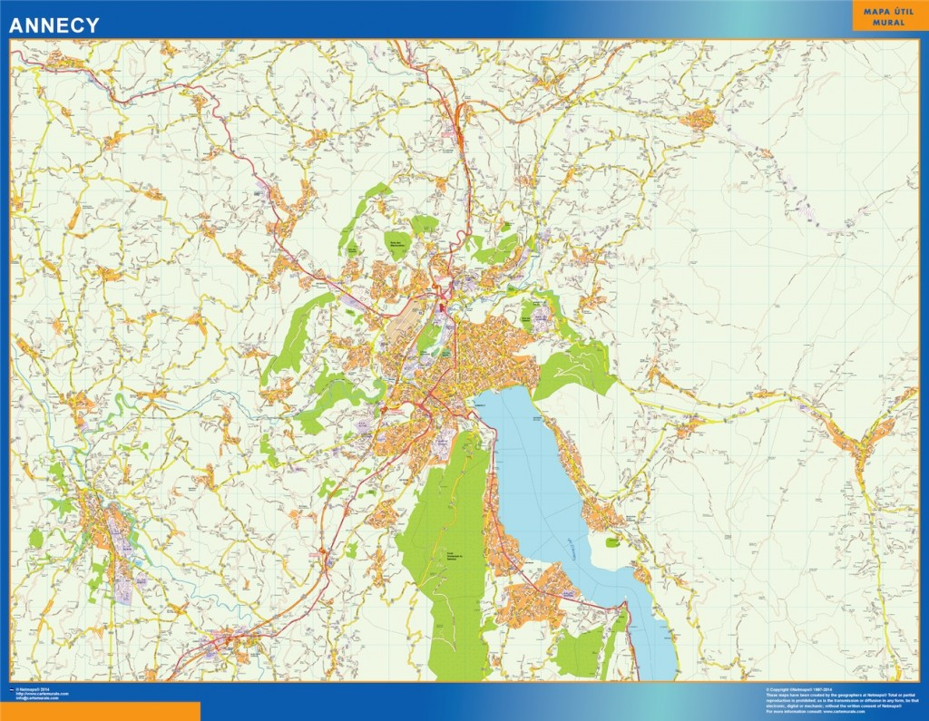 carte annecy